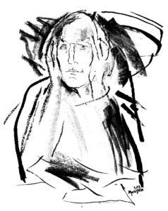 Вяч. Иванов. Рисунок Г. А. В. Траугот. 2015
